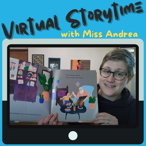 Virtual Storytime with Miss Andrea