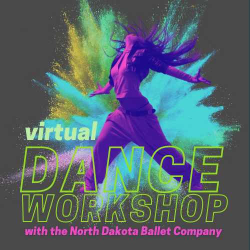 virtual dance workshop with the North Dakota Ballet Company